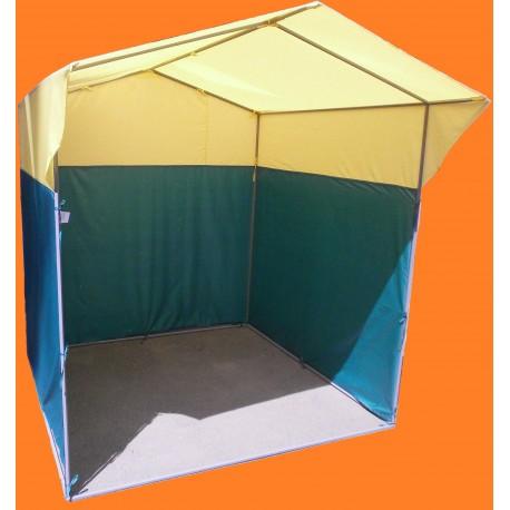 Палатка торговая три стены